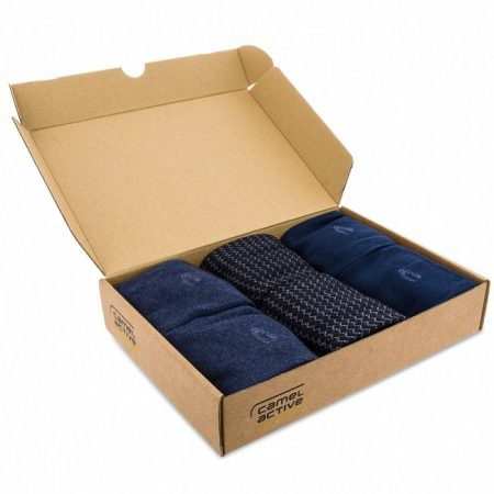 BASIC SOCKS GIFT BOX 6 PACK