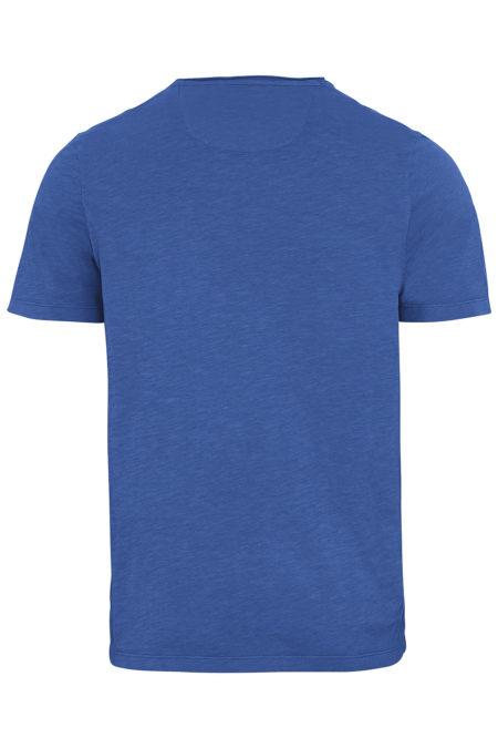 BASIC T-SHIRT WITH POCKET - BLUE
