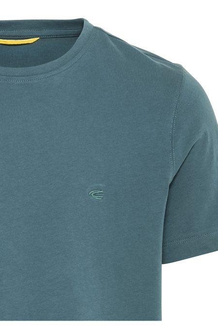BASIC PLAIN T-SHIRT - BLUE