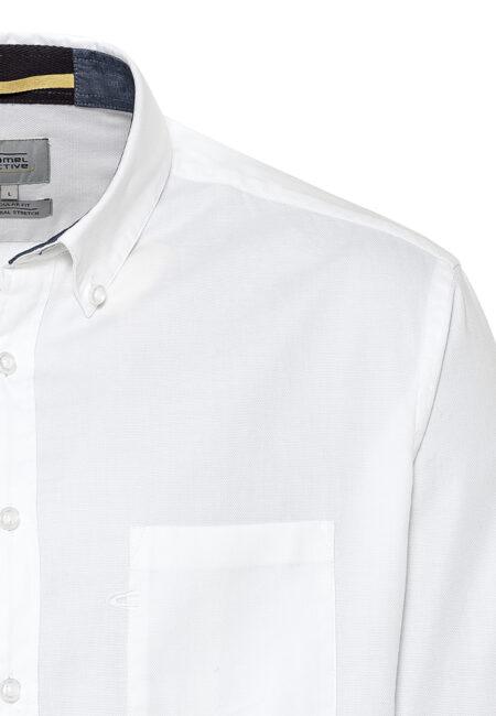 PLAIN SHIRT- WHITE
