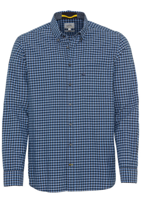 SMALL CHECK SHIRT- BLUE