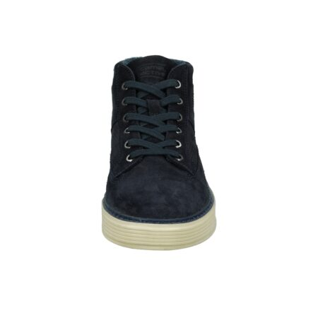 SUEDE SEMI BOOT- NAVY BLUE