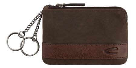KEY CHAIN CASE- BROWN