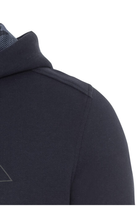 HOODIE WITH LOGO- BLUE