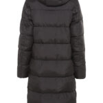LONG QUILTED COAT- BROWN