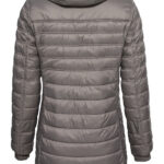 QUILTED SHORT COAT-ROSE