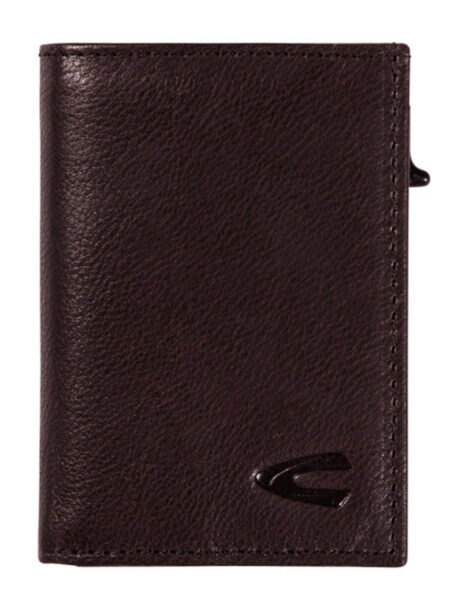 RFID CARD HOLDER SMALL- BROWN