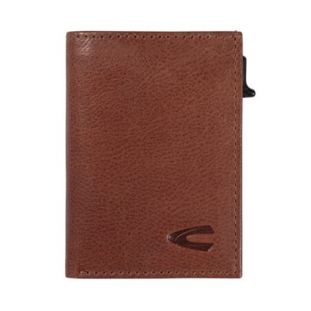 RFID CARD HOLDER - COGNAC