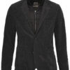 CORD JACKET 2 IN 1- CHARCOAL
