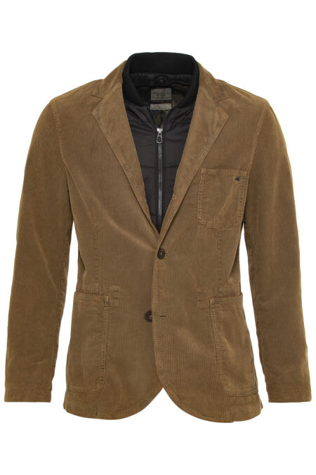CORD JACKET 2 IN 1- CAMEL