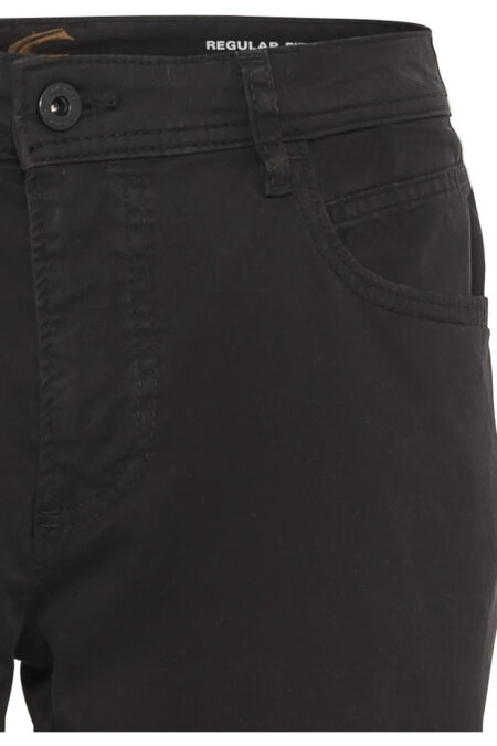 5 POCKET TROUSERS- BLACK