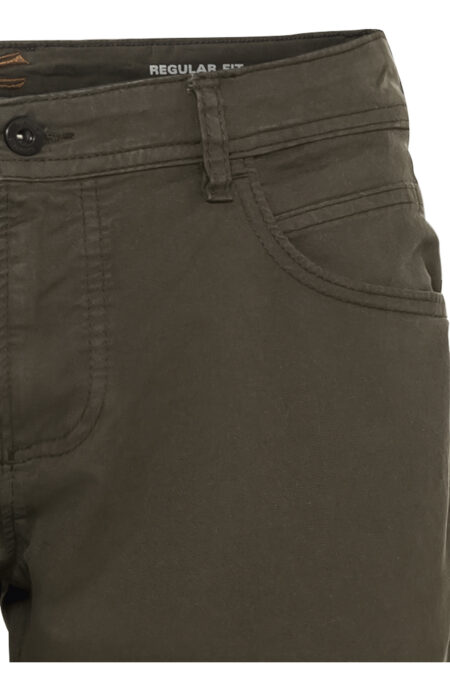 5 POCKET TROUSERS- GREEN