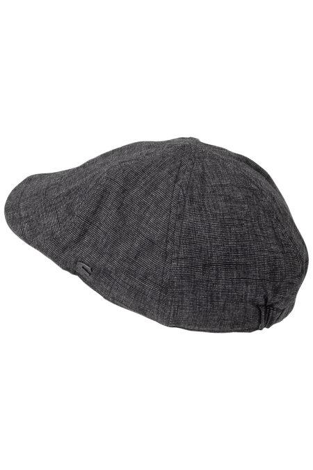 FLAT CAP- BLACK