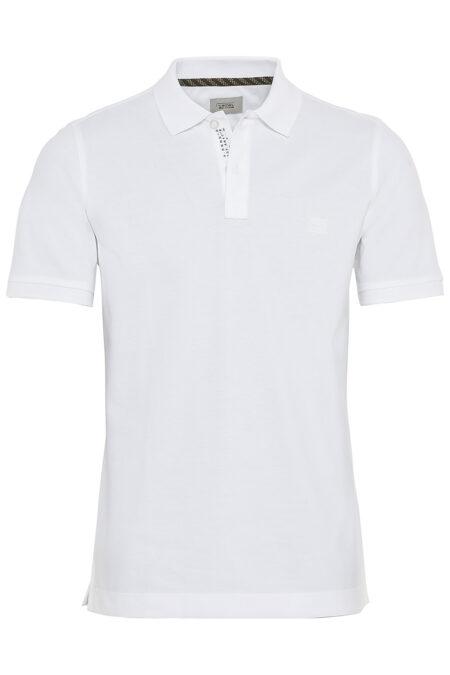 BASIC POLO SHIRT- WHITE