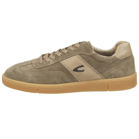 ZION SHOES- SUEDE SNEAKER IN TAUPE