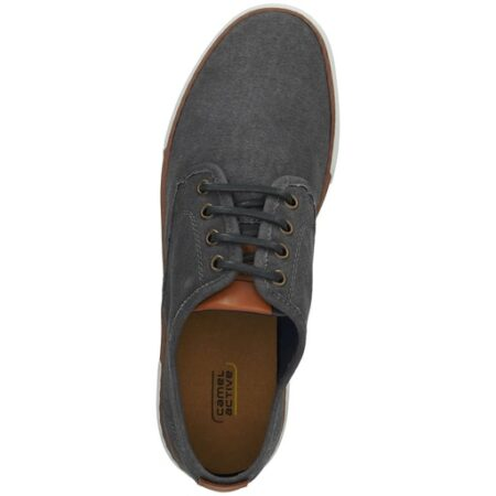 BAYLAND SHOES- CANVAS SNEAKERS IN NAVY BLUE