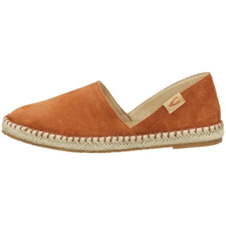 LADIES ESPANDRILLE SHOES- CAMEL