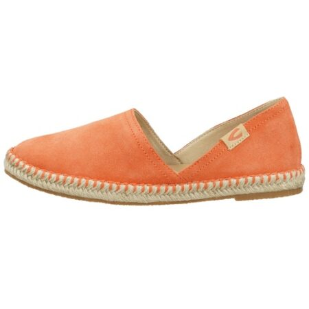 LADIES ESPANDRILLE SHOES- ORANGE