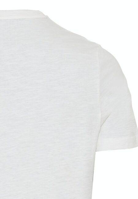 PRINTED T-SHIRT- WHITE