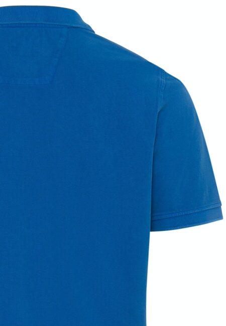 BASIC POLO T-SHIRT- ROYAL BLUE