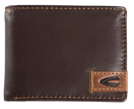 LEATHER WALLET-BROWN
