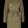 CORD DRESS - KHAKI