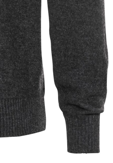 WOOL PULLOVER- ANTHRACITE