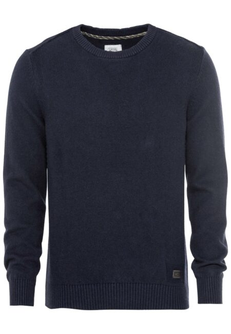 WOOL PULLOVER- BLUE