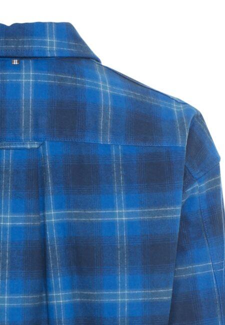 CHECK SHIRT- ROYAL BLUE