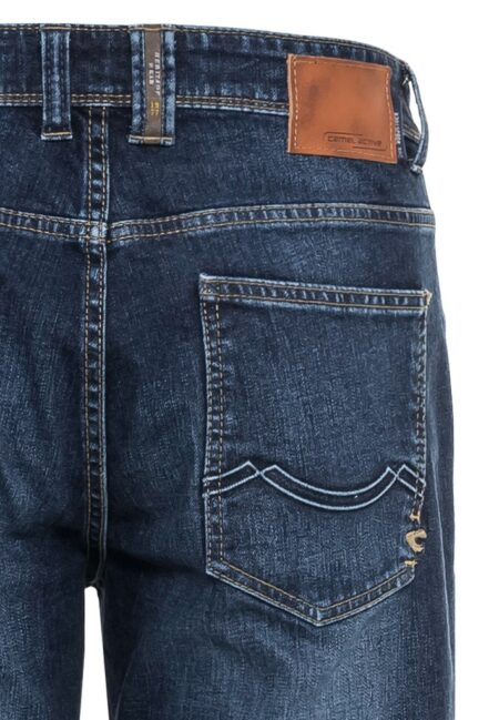 DENIM JEANS RELAXED FIT- BLUE WASH