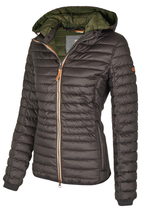 HOODED JACKET- ANTHRACITE