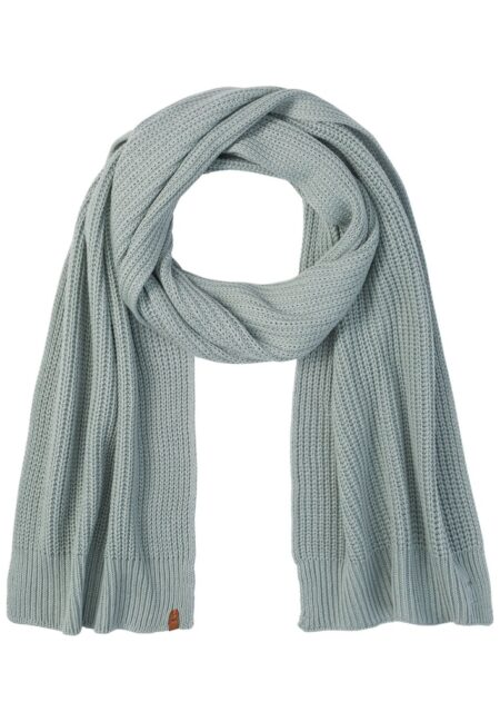 KNITTED SCARF- MINT