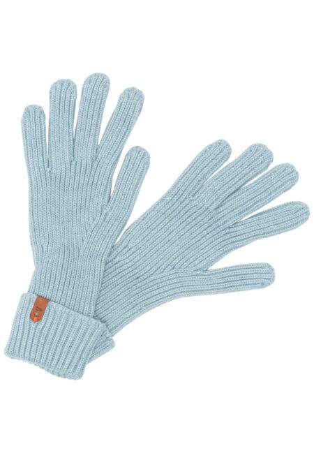 KNITTED GLOVES- MINT