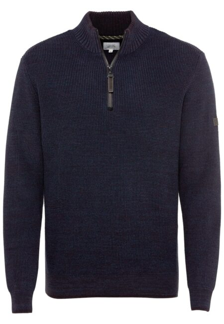 PULLOVER TROYER- BLUE