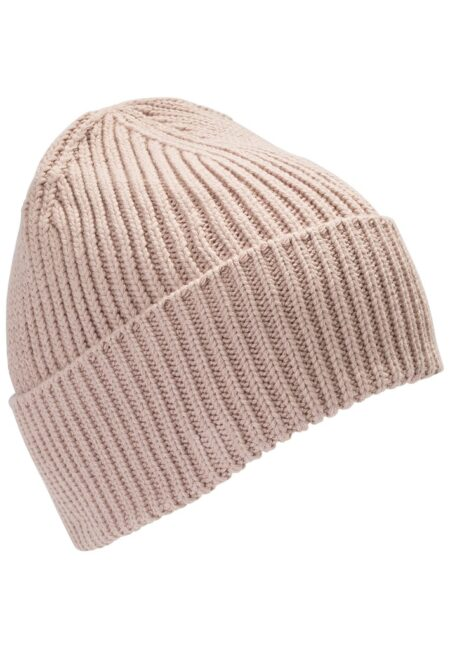 KNITTED BEANIE- PINK