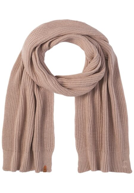 KNITTED SCARF- PINK